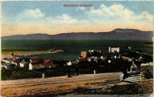 CPA AK KRALJEVICA PORTORE CROATIA (567585)