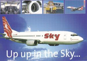 SKY Airlines [Turkey] Jet Airplane , 80-90s