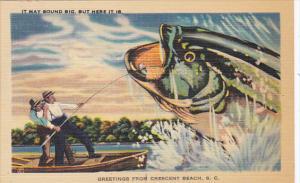 Fisherman Catching Giant Fish
