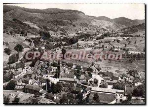 Modern Postcard St Maurice sur Moselle Vosges Panoramic aerianne