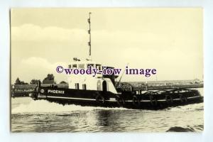 pf0303 - Dutch Smit Tug - Phoenix , built 1955 renamed Zeepaard - postcard