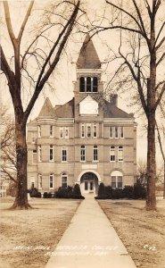 G77/ Arkadelphia Arkansas RPPC Postcard 1944 Main Hall Ouachita College