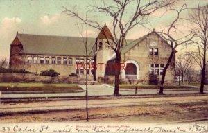 pre-1907 MEMORIAL LIBRARY, MALDEN, MASS. 1910
