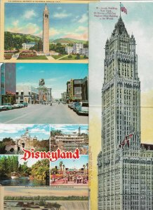 USA - Postcard Lot of 64 Postcards California, Disneyland And Much More!  -01.04