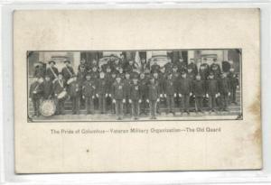 Columbus Veteran Military Organization Guard Music Band (1910s)