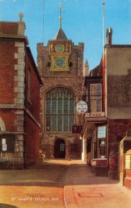 Vintage Postcard St. Mary's Church, Rye, Sussex K40