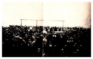 Hanging Serbian Civilians ,  Austro-Hungarian Tyranny , RPC