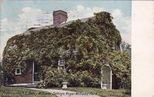 Betysy Williams Cottage Roger Williams Park Providence Rhode Island 1910