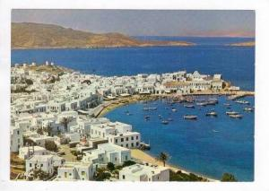 MYCONOS, Picturesque Aerial View, Greece, 40-60s