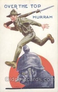 Military Comic Unused light yellowing on back from age