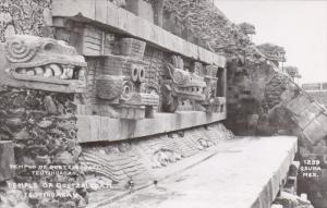 RP; MEXICO; Temple of Quetzalcoatl, Teotihuacan, 30-40s