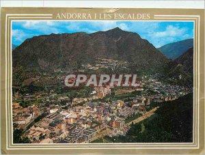 Postcard Modern Valls Andorra Andorra Partial
