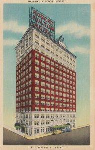ATLANTA , Georgia, 30-40s ; Robert Fulton Hotel