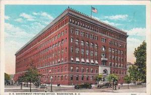 Washington DC U S Government Printing Office