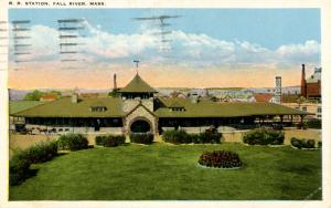 MA - Fall River. Railroad Station, Depot