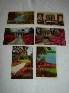 Mobile AL - Lot Of 6 Great Vintage Postcards - x0512