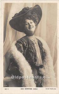 Miss Godwynne Earle Theater Actor / Actress Unused
