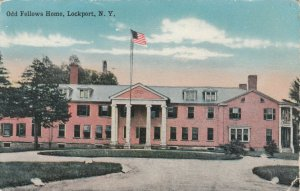 LOCKPORT , New York , 1900-10s ; Odd Fellows Home