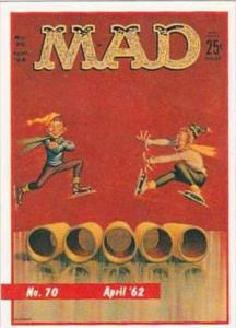 Lime Rock Trade Card Mad Magazine Cover Issue No 70 April 1962