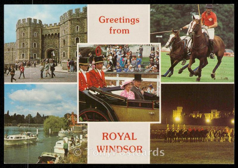 Greetings from Royal Windsor