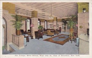 The Lounge Hotel Bristed West 48th Street East Of Broadway New York City New ...