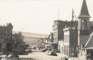 RP: LEADVILLE , Colorado , 30-40s ; Harrison Avenue , Looking South