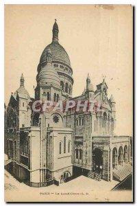 Old Postcard Paris Le Sacre Coeur