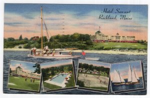 Rockland, Maine, Hotel Samoset
