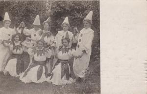 RP: Women in Clown Suits , Hamburg , Germany , PU-1910