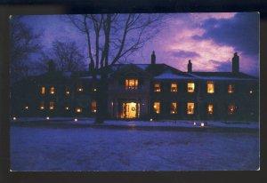 Manchester, Vermont/VT Postcard, Candlelight, Historic Hildene, Lincoln Estate