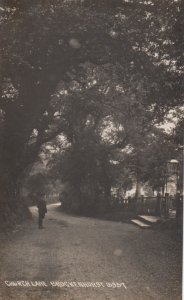 RP: BROCKENHURST , England , 00-10s ; Church Lane