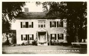NY - Schoharie. Lasell Hall, Home of Schoharie Chapter of D.A.R.   *RPPC