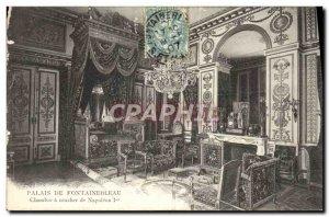 Old Postcard Fontainebleau Palace House Sunset Napoleon 1st