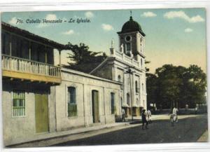 venezuela, PUERTO CABELLO, La Iglesia (1910s)