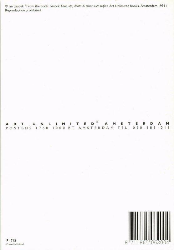 CPM F1715, JAN SAUDEK, SAUDEK. LOVE, LIFE & OTHER SUCH TRIFLES 1991 (d1292)