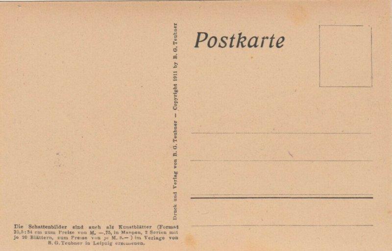 DIEFENBACH : Fantasy Silhouette , 00-10s ; Jugend I. Blatt 10