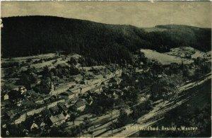 CPA AK Wildbad - Ansicht v. Westen GERMANY (910863)