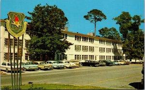 Biloxi MS Kessler Air Force Base Electronics Training Ctr Postcard unused 1950s