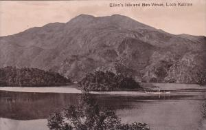 Ellen's Isle And Ben Venue, Loch Katrine, Scotland, UK, 1900-1910s