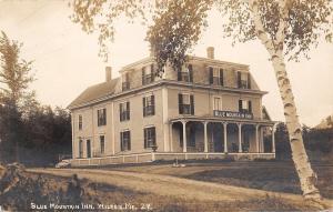 Wilton Maine~Blue Mountain Inn~1914 SHARP! Real Photo Postcard RPPC