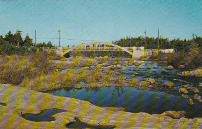 Canada Bridge At Manuels In Conception Bay Peninsula Newfoundland