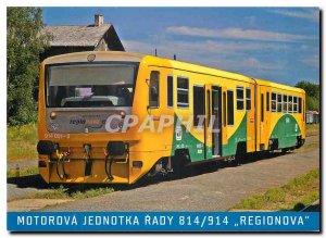 Postcard Modern Motorova jednotka rady 814/915 REGIONOVA
