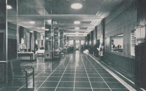 WASHINGTON D.C., 40-50s;  Lobby of The Hotel Raleigh