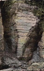 New York Ausable Chasm The Elephant's Head Curteich