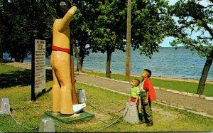 Minnesota Bemidji Chief Bemidji Statue