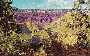 Arizona Grand Canyon National Park Between Hopi And Mohave Point