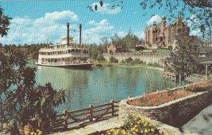 Florida Orlando Walt Disney World Cruising The Rivers Of America