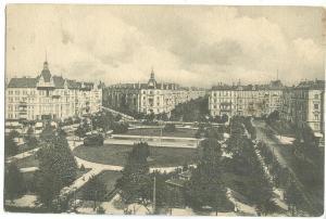 Germany, Charlottenburg, Savignyplatz, early 1900s, unused Postcard