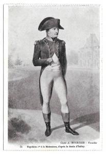 France Versailles Napoleon Portrait Vtg Bourdier Postcard