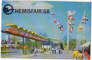 1968 World's Fair, HemisFair, San Antonio TX